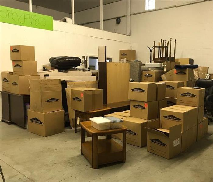 Personal contents in warehouse