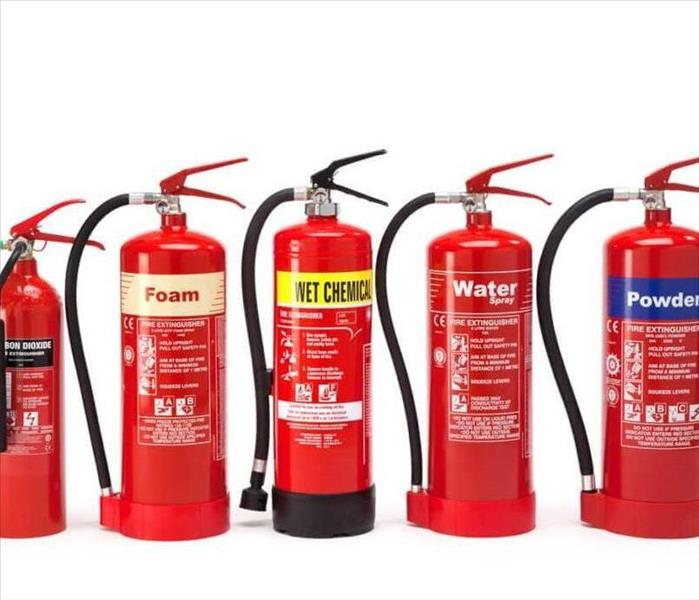 Commercial Fire Extinguishers in the Work Place